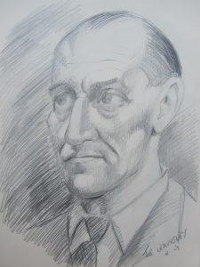 Original artwork by John Woodcock