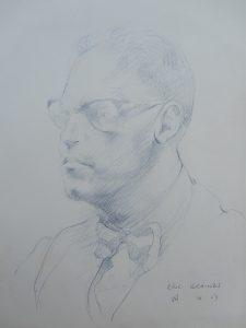 50's Portrait Drawing