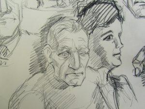 Drawing of John's Parents
