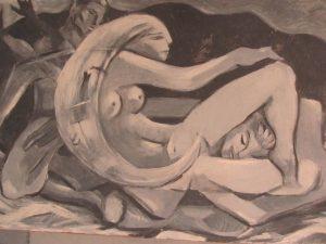 Original Artwork Signed by Artist John Woodcock