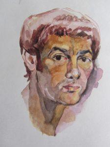 John Woodcock self portrait